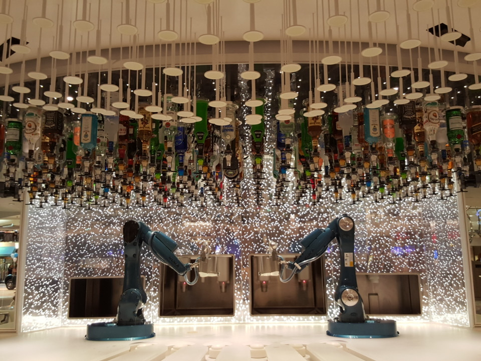 Bionic Bar serving up cocktails