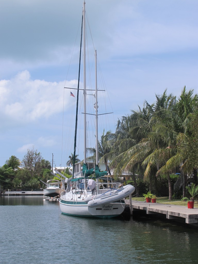 The waterways of Key Largo