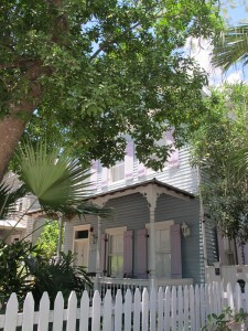 Cypress House Hotel in Key West. An historic Bahamian Conch House.