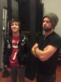 Josh Waters and Lewis Brice