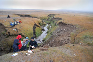 Field course in perrmafrost research