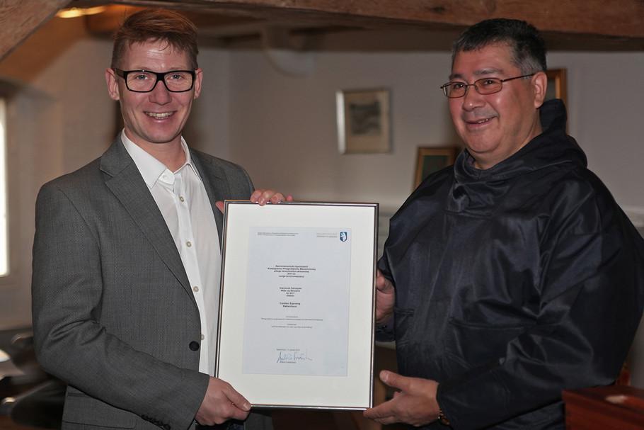 Carsten Egevang awarded Environment and Nature Award