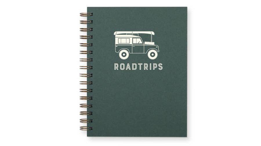 Roadtrips Journal : Lined Notebook