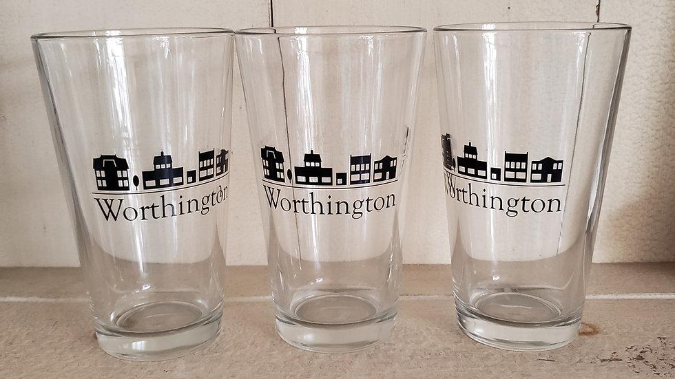 Worthington Pint Glass