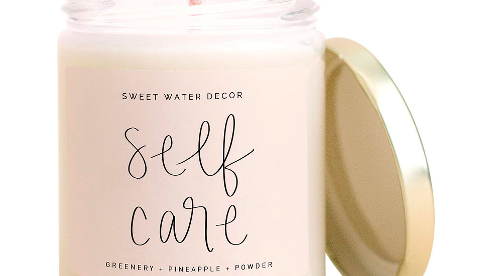 Self Care Soy Candle