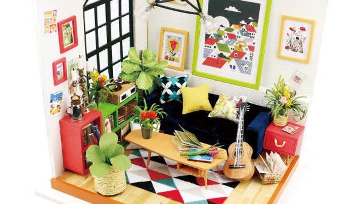 Locus' Sitting Room, DIY Miniature Dollhouse Crafting