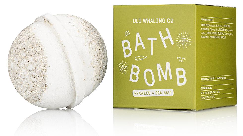 Seaweed & Sea Salt Bath Bomb