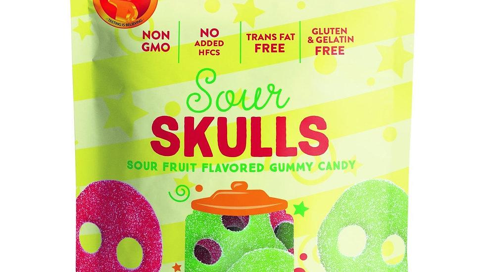 Sour Skulls Gummy - 4oz.