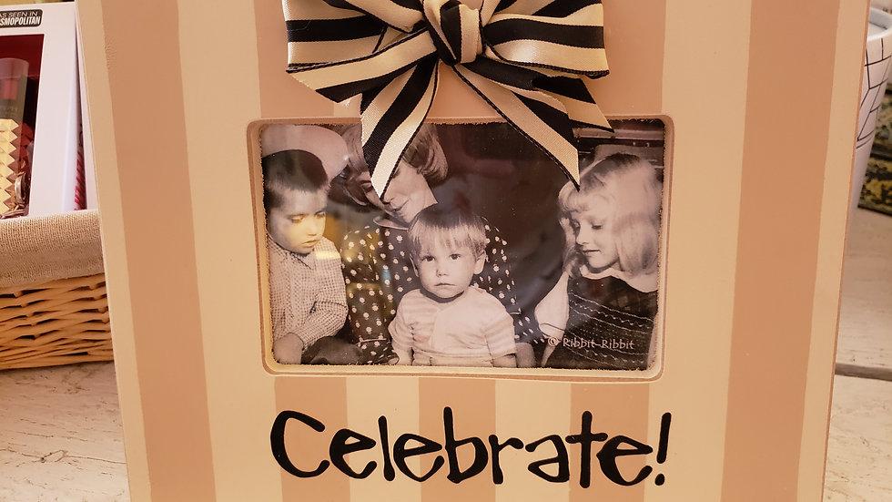 Celebrate 4x6 Picture Frame