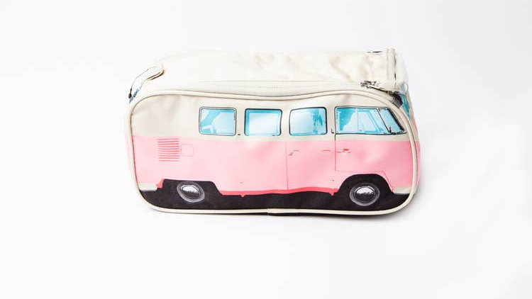 VW Wash Bag in Pink