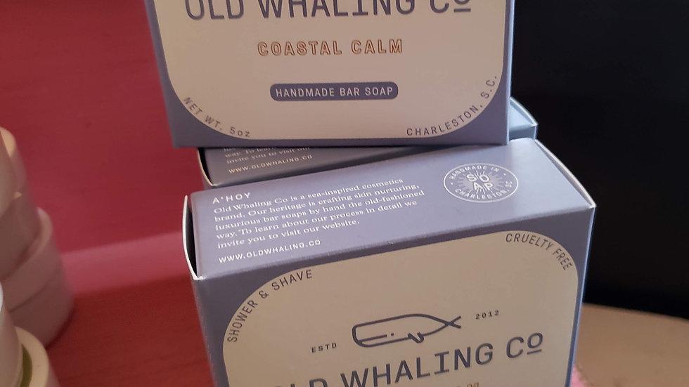 Old Whaling Handmade Bar Soap Coastal Calm