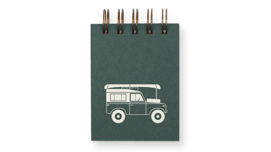 Off-Road Mini Jotter Notebook