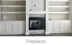 Fireplace Cover Picture - Da Vinci Const