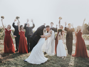 Dreamy Autumn Vineyard Wedding