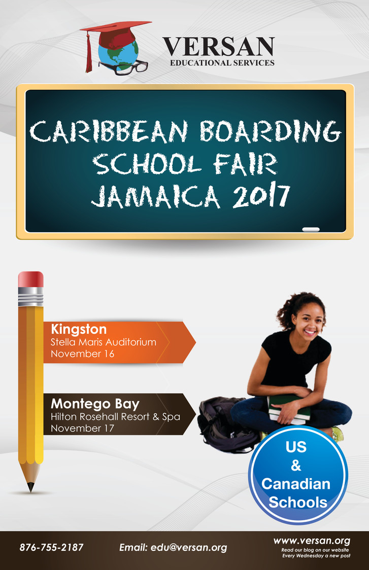 TODAY IS CARIBBEAN BOARDING SCHOOL FAIR 2017!!! Wednesday Blog