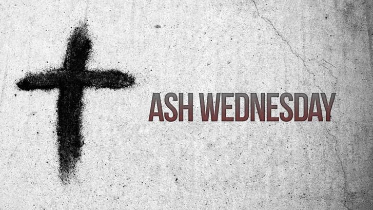 """ASH WEDNESDAY BLOG"""