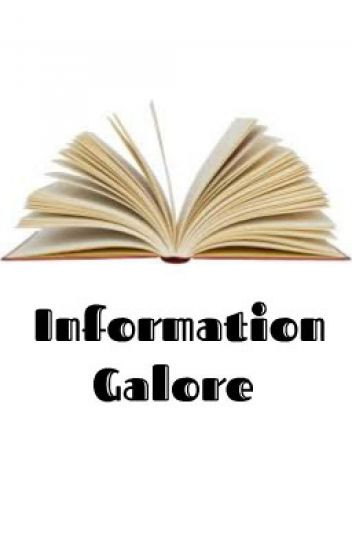 """Information Galore"""