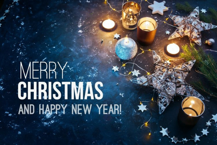MERRY CHRISTMAS AND A HAPPY NEW YEAR!!
