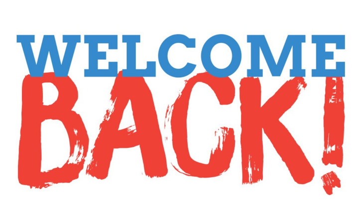 WELCOME BACK WEDNESDAY BLOG