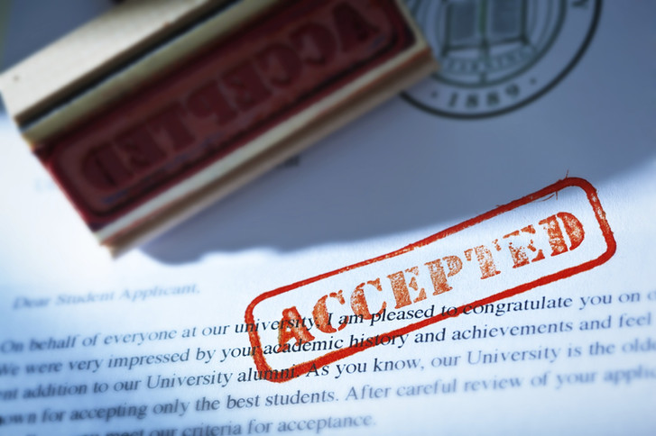EARLY ACCEPTANCES