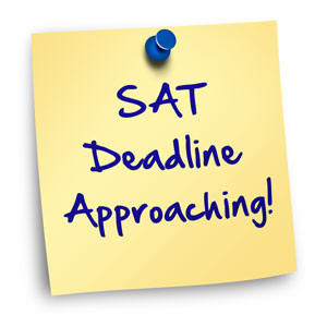 SAT REGISTRATION WEDNESDAY BLOG