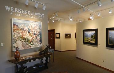 Weekend in the West Evergreen Fine Art