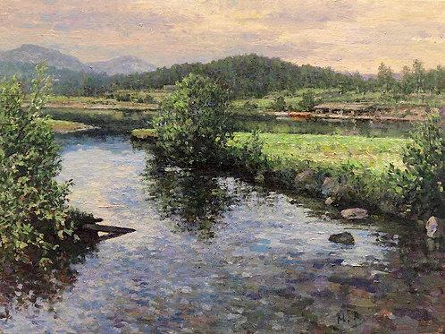 Evergreen Lake Summer