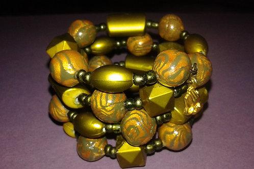 Sober Soldiers Survivor Bracelet Wrap Green