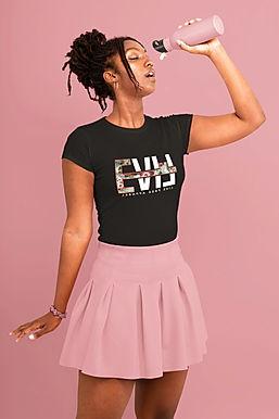 monochromatic-t-shirt-mockup-of-a-stylis
