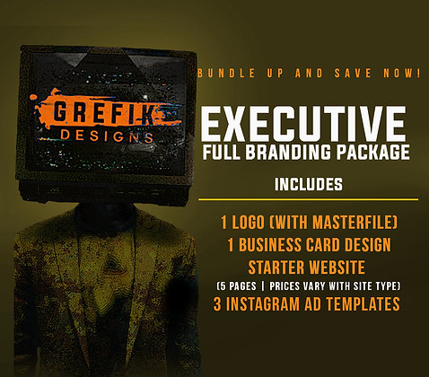 Executive Full Branding Package