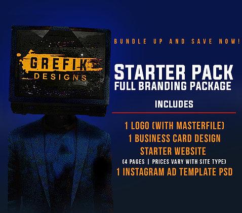 Starter Pack Full Branding Package