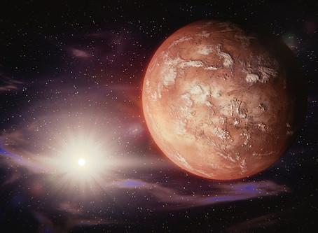 火星が山羊座にイングレスしました
