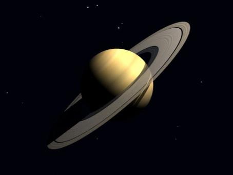 本日14:05に宙の土星が水瓶座入り