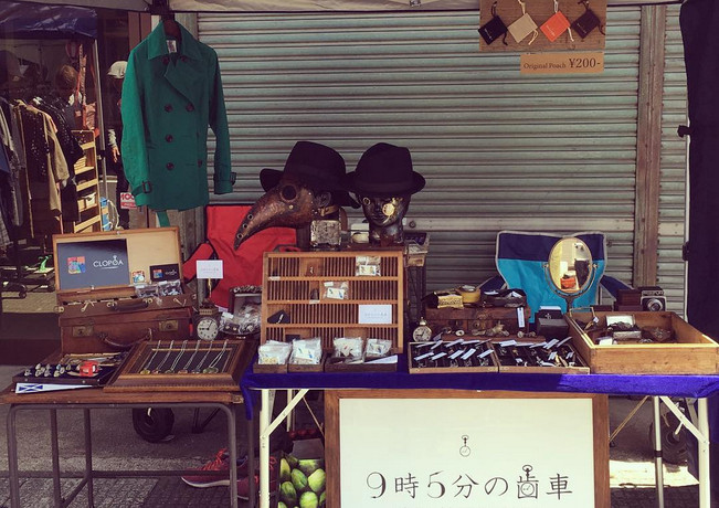 2017.5岩手県花巻市土澤アートクラフトフェア出店一日目.JPG