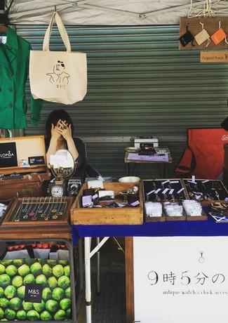 2017.5岩手県花巻市土澤アートクラフトフェア出店二日目.JPG