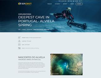 Exploração da gruta subaquática mais profunda de Portugal – Nascente do Alviela