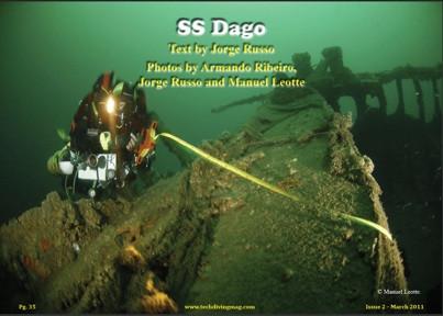 Dago na Tech Dive Mag