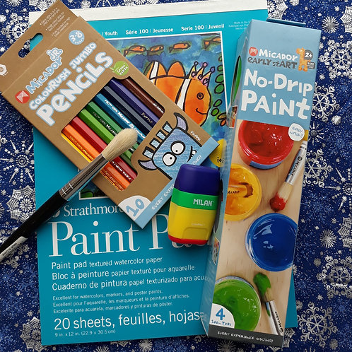 Little Artist Paint & Draw Set!