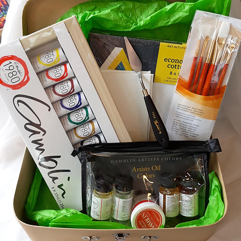 Oil Painting Deluxe Set