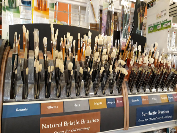 Long Hand Brushes