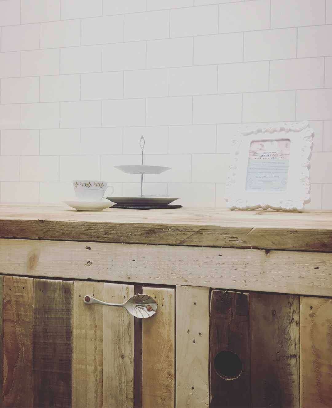 Bespoke, Reclaimed Kitchen Unit
