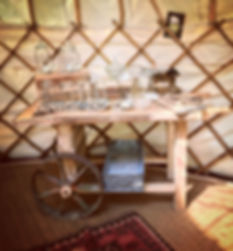 Vintage Sweet cart for hire