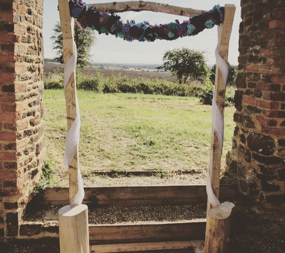 Rustic Archway Backdrop