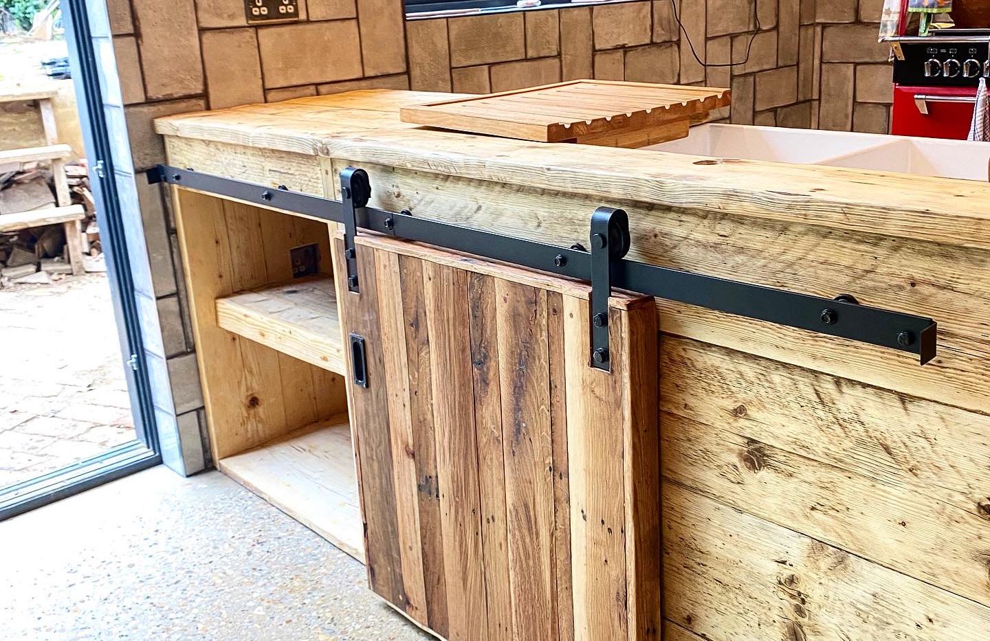 Reclaimed, Handmade Kitchen and Pantry