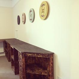 Rustic Wooden Storage Bench
