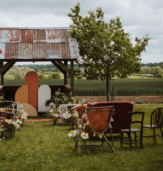 Deck Chairs and Vintage Seating