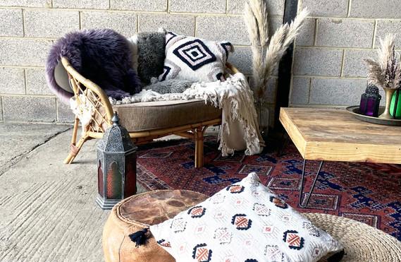 Cane sofa boho chill out hire range jpg.