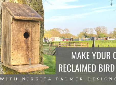 DIY: Reclaimed Bird Boxes