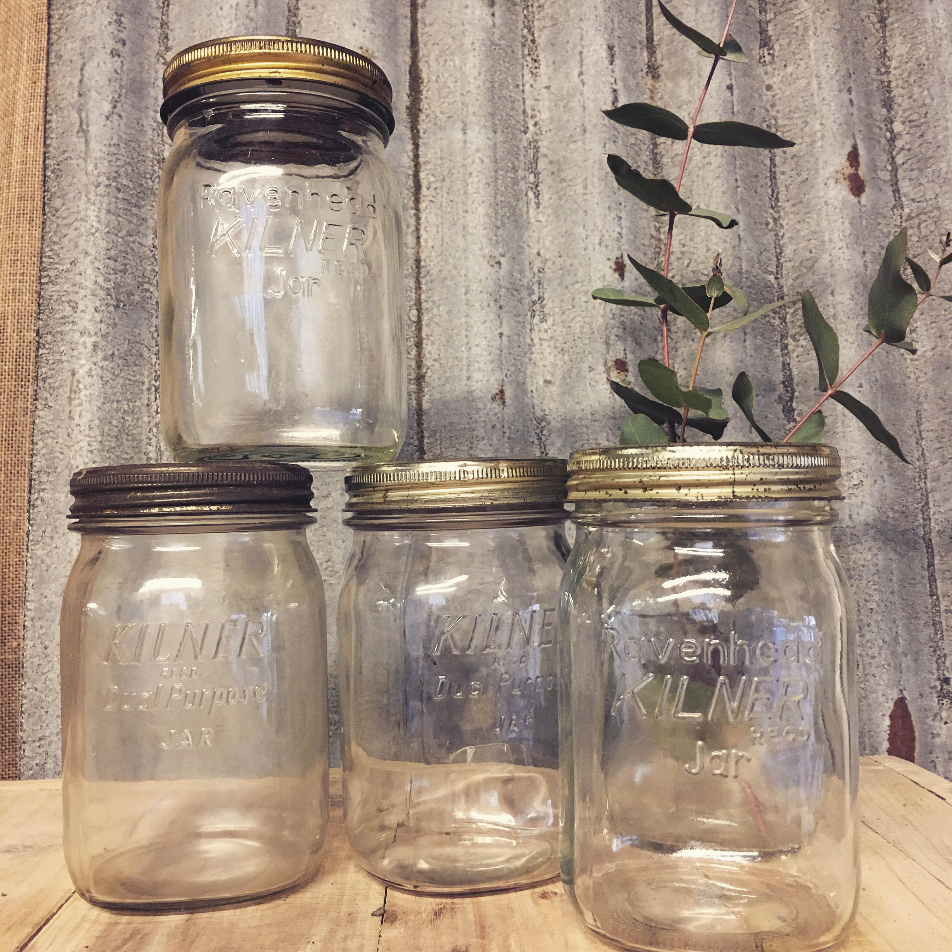 Vintage Kilner Jars £1 each