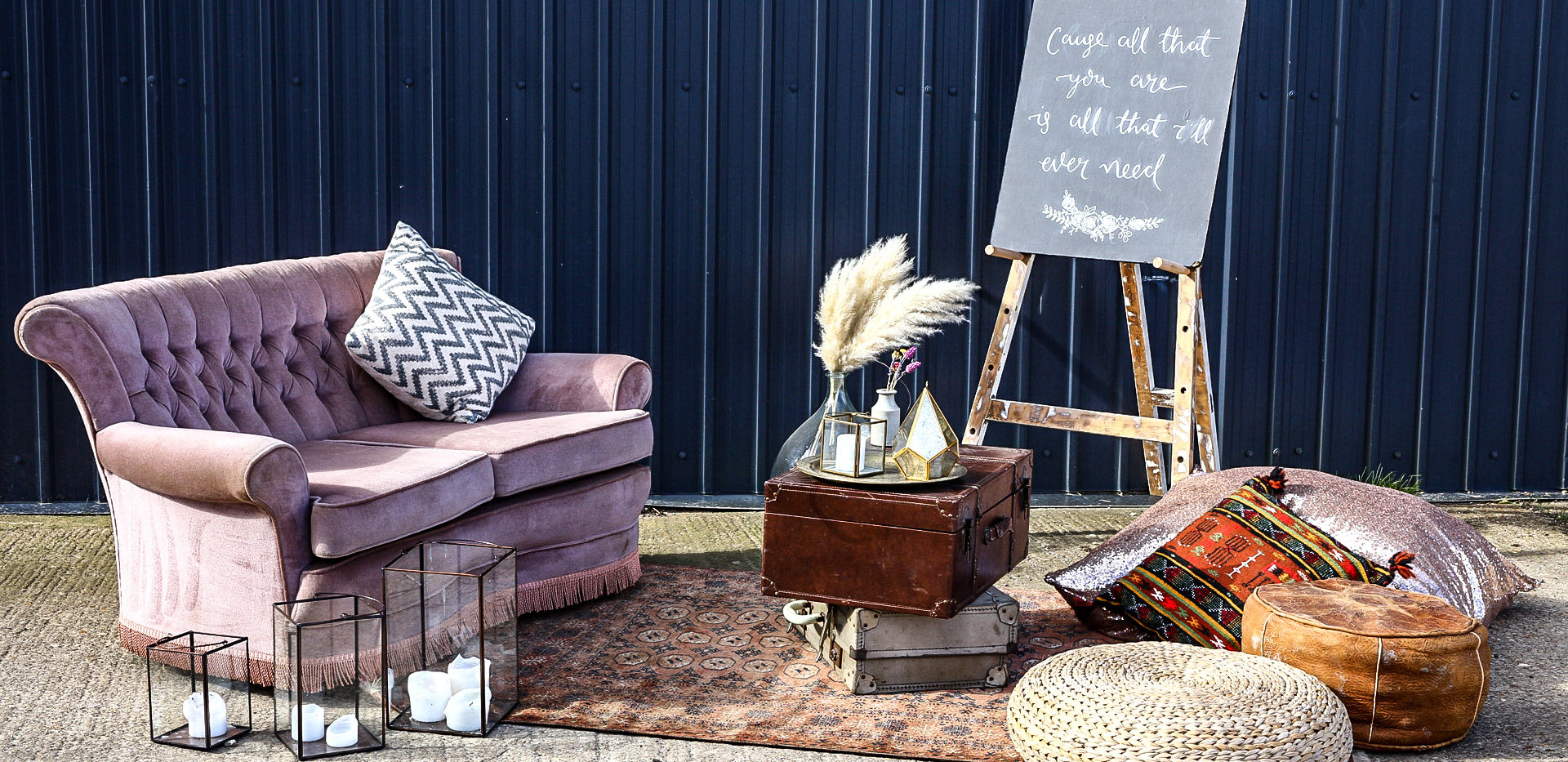 Low & High Level Boho Chill Out Area